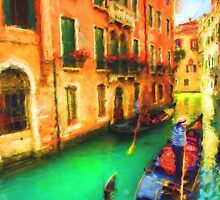 Gondola Canal by Patricia Lintner