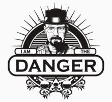 Walter White - I Am The Danger by OriginalApparel