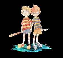 Twins Lucas and Claus by notadesireleft