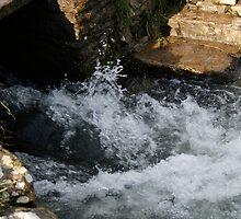 Water rushing Through  by Iani