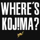 Where's Kojima? by TeeKetch