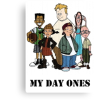 My Day Ones Canvas Print