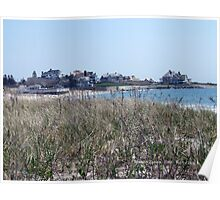 Napatree Point view of Watch Hill, RI  Poster