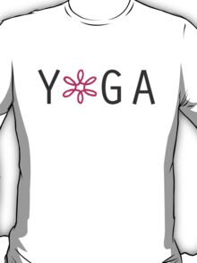 Yoga- Pink T-Shirt