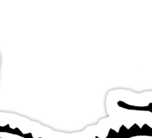 Watercolour Smaug. Sticker