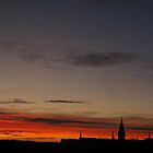 Sunrise over Leith by Bondbloke