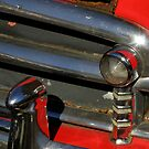 Chrome And Red With A Hint Of Rust by artisandelimage
