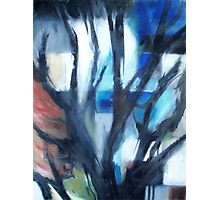 Mondrian Trees III Photographic Print