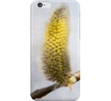 Willow Catkins - Silver World - Vertical iPhone Case/Skin