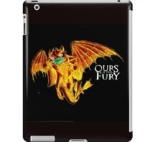 Ours is the Fury - Night Fury How to Train Your Dragon (orange) iPad Case/Skin