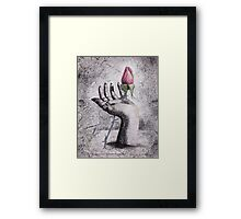 The Price of Redemption - an Ecological Statement Framed Print