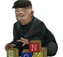 Baby Kim Jong-Un by RBTOENESSX
