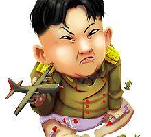 Little Kim Jong-Un by RBTOENESSX