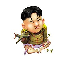 Little Kim Jong-Un Photographic Print