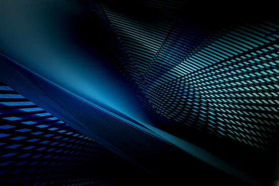 blue projection #1 by dominiquelandau