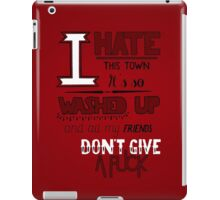 A Day To Remember - All Signs Point To Lauderdale (Part 2) iPad Case/Skin