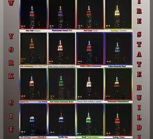 Empire State Building Collage by TerrieK