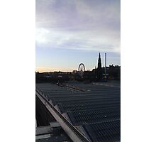 Edinburgh Skyline from North Bridge Photographic Print