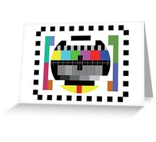 Mire - Testcard Greeting Card
