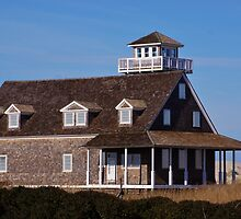 The Old Coast Guard Station on the OBX by paulboggs