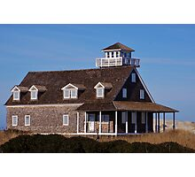 The Old Coast Guard Station Photographic Print
