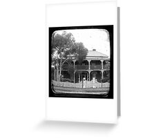 Country House Through The Viewfinder (TTV) Greeting Card