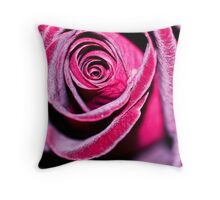 Frosted. Throw Pillow