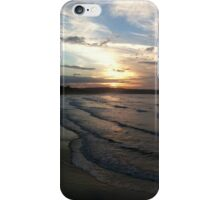 Sunset sea view iPhone Case/Skin