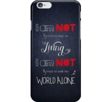 My Chemical Romance - Famous Last Words iPhone Case/Skin