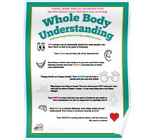 Whole Body Understanding Poster (Autism) Poster