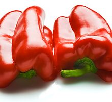 Capsicum Half by Ryan Carter