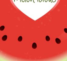 Melon-icious Sticker