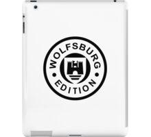 Wolfsburg Edition (black) 1c iPad Case/Skin