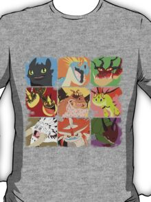 .::Noteable Dragons::. T-Shirt
