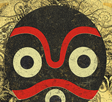 African Mask Sticker