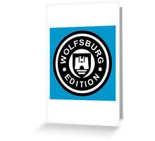 Wolfsburg Edition 2c Greeting Card