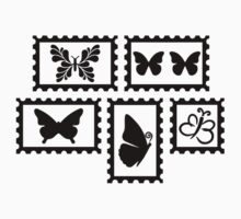 Butterfly stamps Kids Clothes