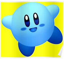 Blue Kirby Poster