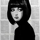 girl in black by Loui  Jover