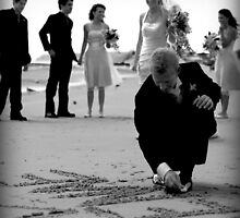 Writing in the sand by Bailey Designs