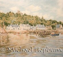 Strone Point - Firth of Clyde by michaelhepburn
