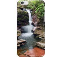 Amazing Hues Of Adams Falls iPhone Case/Skin