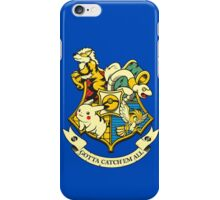 Pokemon hogwarts logo iPhone Case/Skin