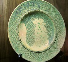 Ceramic Plate by Orla Cahill