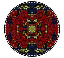 mandala design Photographic Print