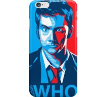 David Tennant Doctor Who iPhone Case/Skin