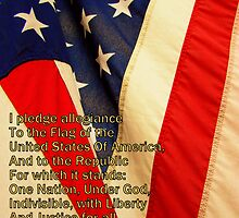 Pledge Of Allegiance by Susan Bergstrom