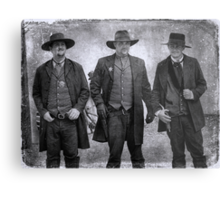 The Gunfight at the OK Corral in Tombstone Arizona Metal Print