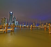 Corpus Christi Bayfront by Scott  Remmers