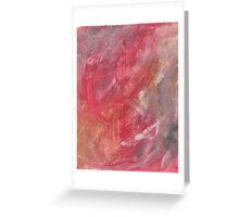 ALL RED AND IT SHOWS(C2015) Greeting Card